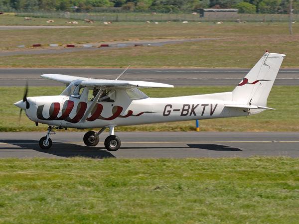 Reims    Cessna F152    G-BKTV