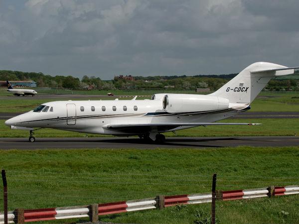 Cessna 750 Citation X   G-CDCX