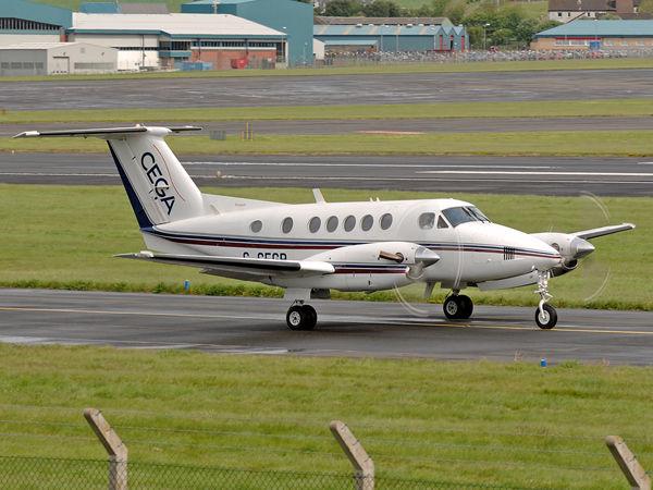 Beech 200 Super KingAir     G-CEGP