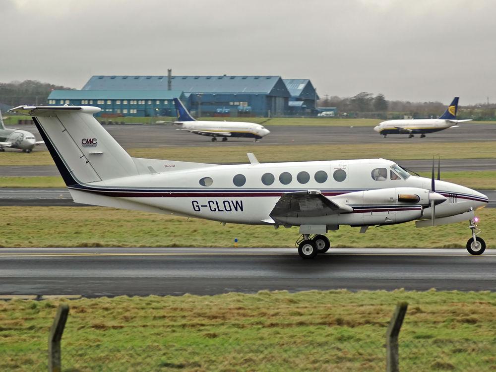 Beech 200 Super King Air  G-CLOW