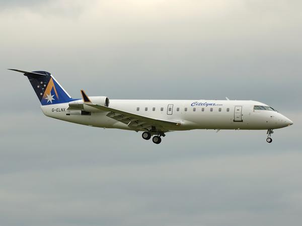Bombardier Canadair CL600-2B19    G-ELNX
