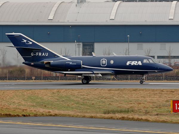 FR Aviation   Dassault Falcon 20       G-FRAU