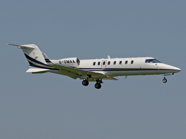 Gama Aviation Ltd     Learjet 45     G-GMAA