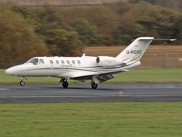 Hanger 8 Ltd      Cessna 525A Citation Jet CJ2+      G-HGRC