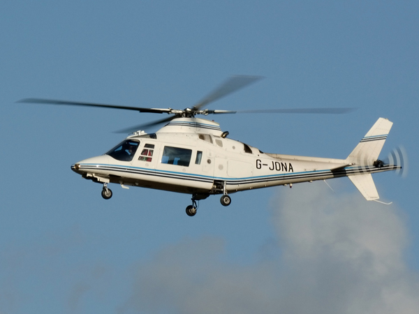 Agusta A109A         G-JONA
