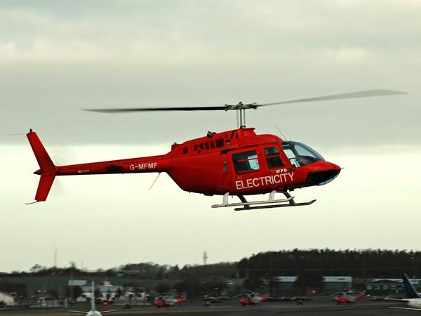 Bell 206B JetRanger 3  G-MFMF