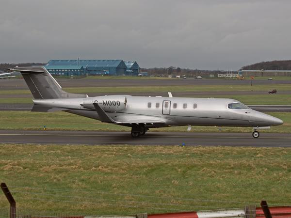 LPC Aviation Ltd    Learjet 40     G-MOOO