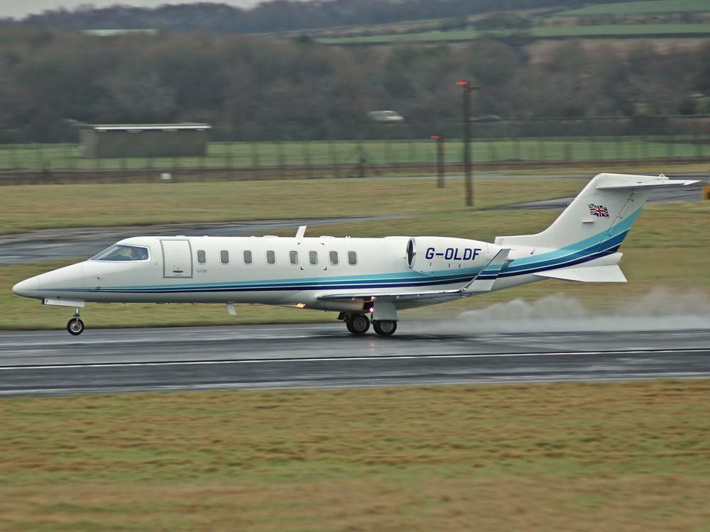 Learjet 45 G-OLDF