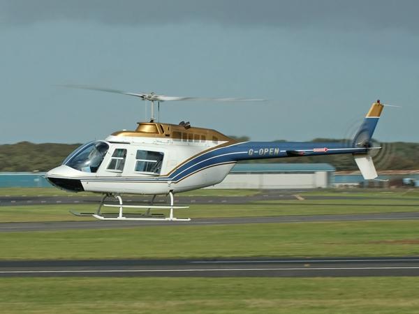 Bell 206B  G-OPEN