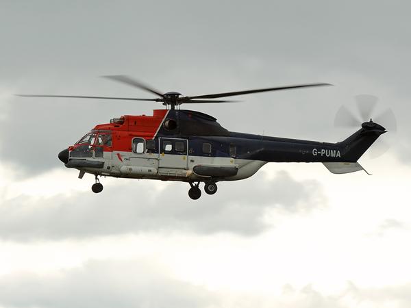 CHC Scotia  Aerospatiale AS332LI Super Puma  G-PUMA
