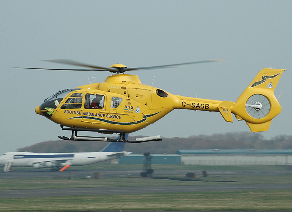 Eurocopter EC.135T-2 G-SASB
