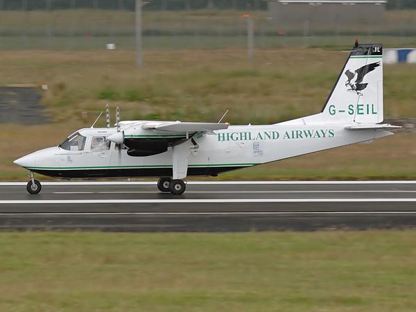 Highland Airways  Britten-Norman BN-2 Islander   G-SEIL