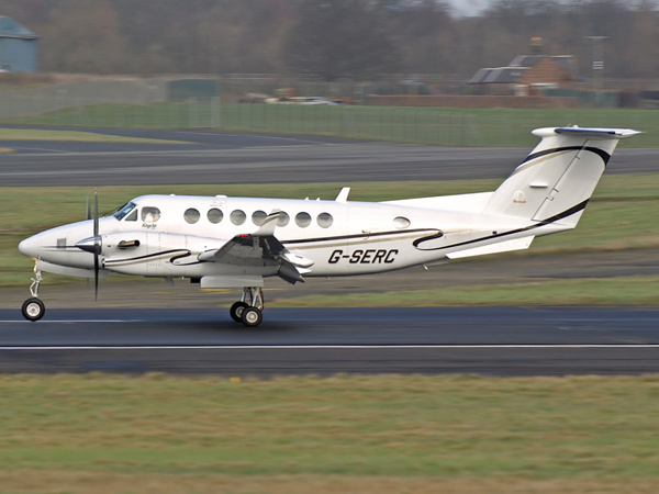 Beech 350 Super KingAir    G-SERC