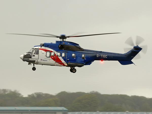 Bristows Helicopters    Aerospatiale AS-332L1  Super Puma     G-TIGC