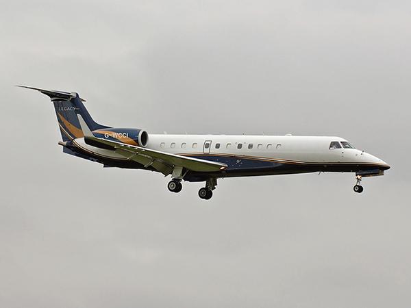 London Executive Aviation    Embraer 135BJ Legacy     G-WCCI
