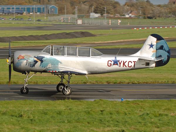Yakovlev Yak-52    G-YKCT