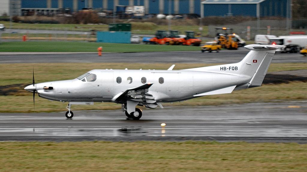 Pilatus  PC-12/47E   HB-FQB (1583)
