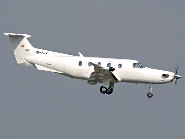 Pilatus PC-12-47   HB-FQV   (cn 804)