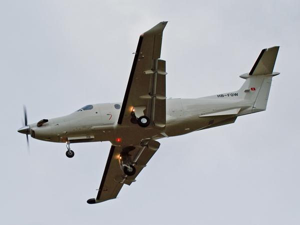 Pilatus PC-12-47    HB-FQW(709)