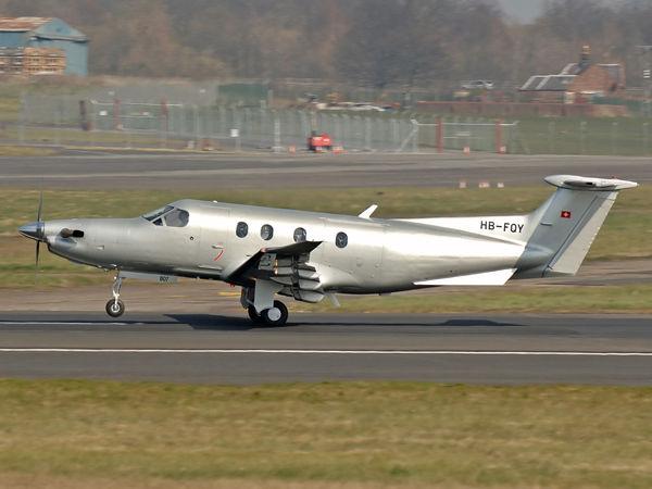 Pilatus PC-12-47   HB-FQY  (cn 807)