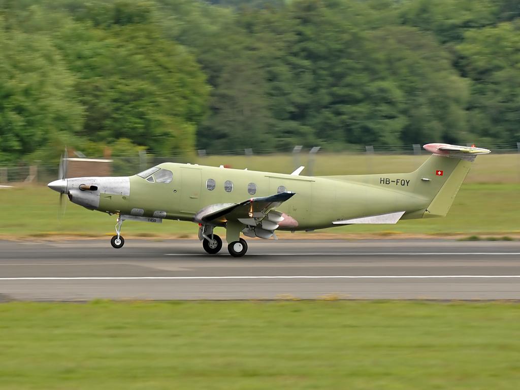 Pilatus PC-12/47E  HB-FQY (1450)