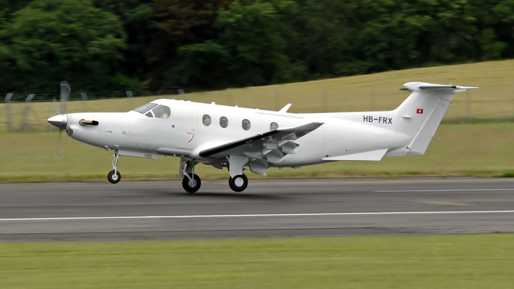 Pilatus  PC-12/47E   HB-FRX (1553)