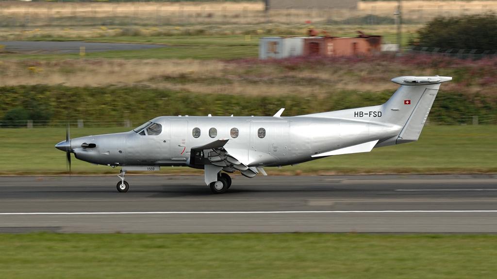 Pilatus  PC-12/47E   HB-FSD (1559)