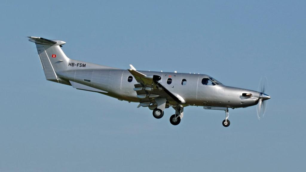 Pilatus  PC-12/47E   HB-FSM (1568)