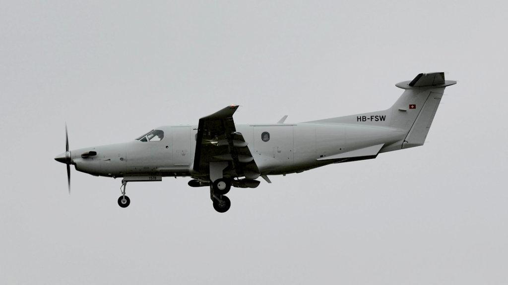 Pilatus  PC-12/47E   HB-FSW (1578)