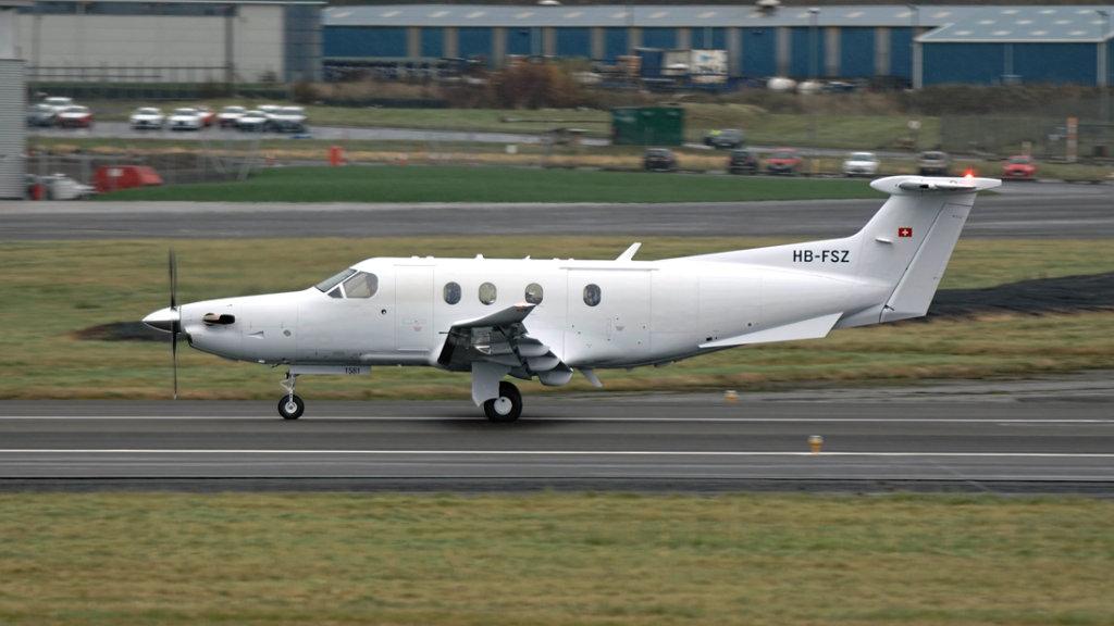 Pilatus  PC-12/47E   HB-FSZ (1581)