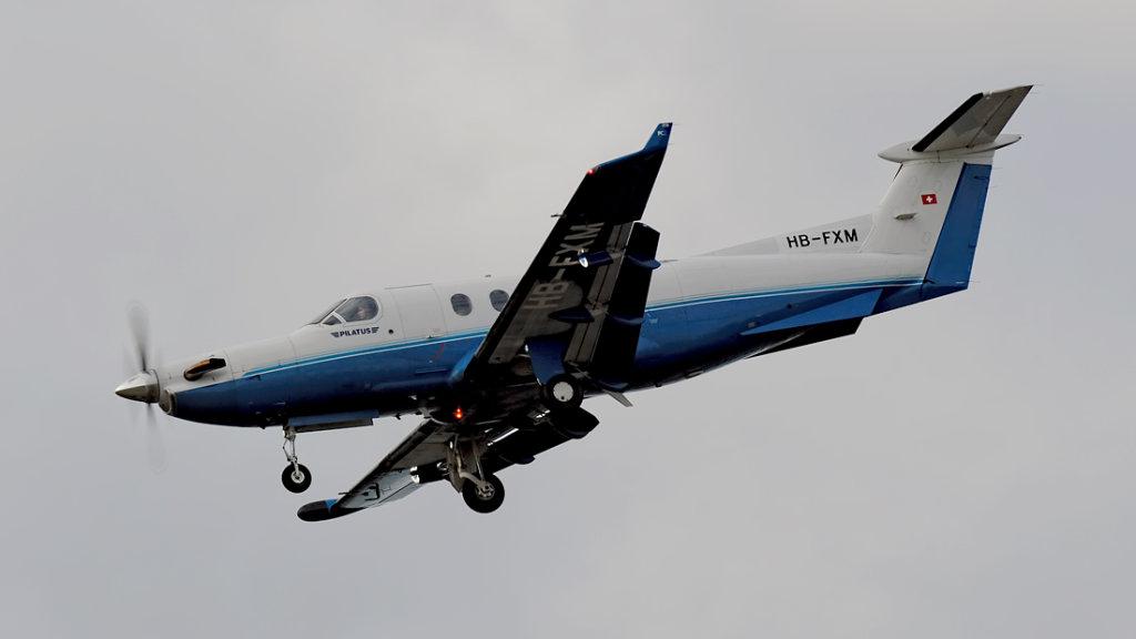 Pilatus PC-12-45   HB-FXM  (cn 547)
