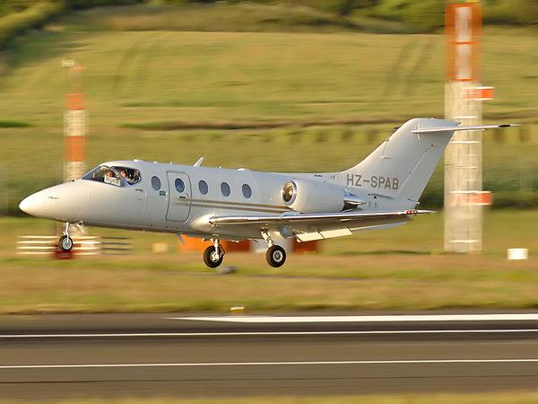 Saudi Arabian Airlines  Hawker Beechcraft 400A Beechjet(400XP)    HZ-SPAB