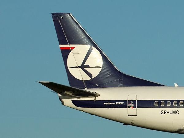 LOT (Poland)<br> Boeing 737-36N