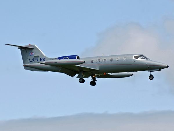 Learjet 35A      LX-LAR