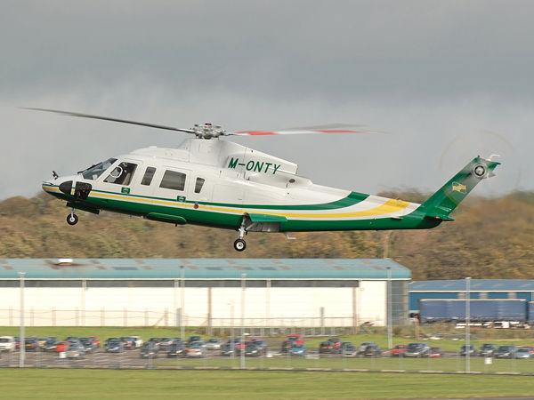 Sikorsky  S-76C   M-ONTY
