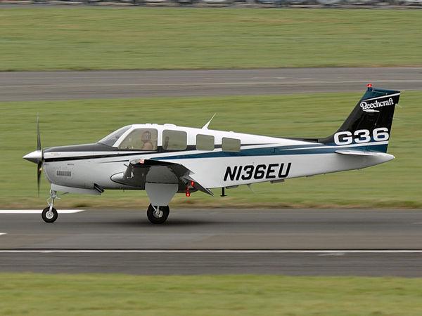 Hawker Beechcraft  G36      N136EU