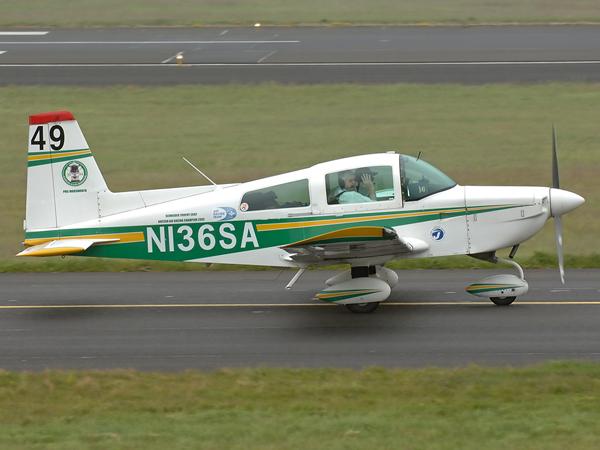 Grumman American AA-5 Traveller      N136SA