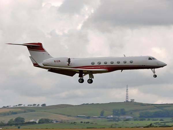 Norman Aircraft Leasing Inc    Gulfstream G550     N1GN