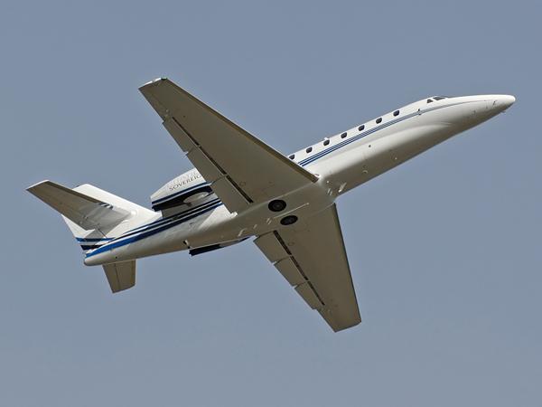 Cessna 680 Citation Sovereign    N261SV