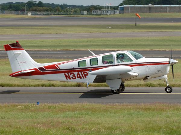 Beech A36   N341P