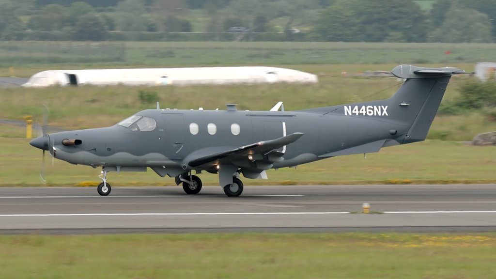Pilatus  PC-12/47E  (U-28A) N446NX (1446)