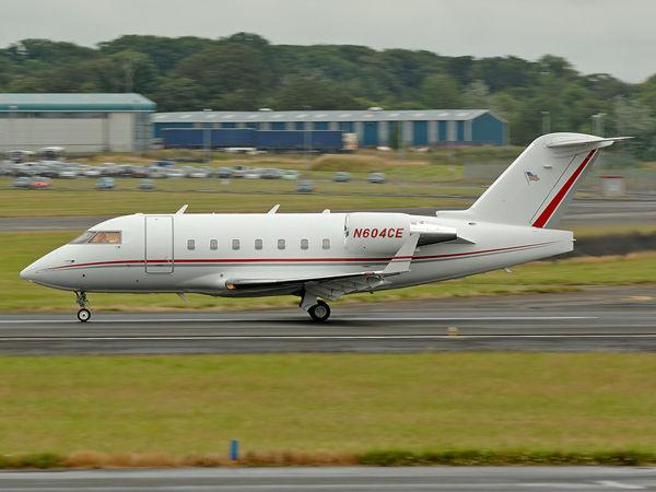 Bombardier  CL-600-2B16     N604CE