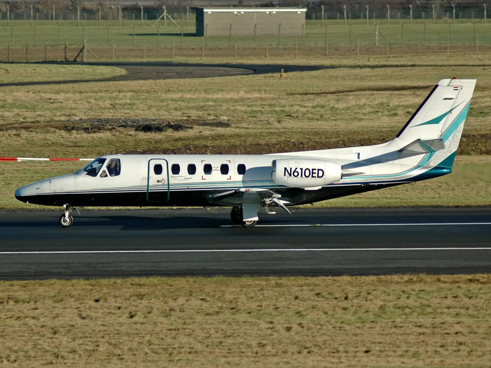 Cessna 550 Citation II  N610ED