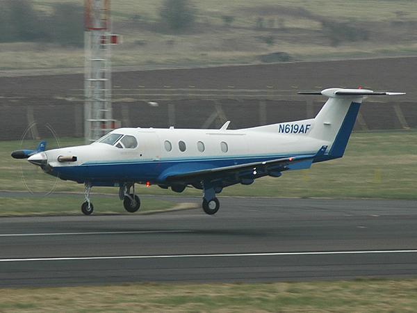 Pilatus PC-12-45   N619AF  (cn 619)