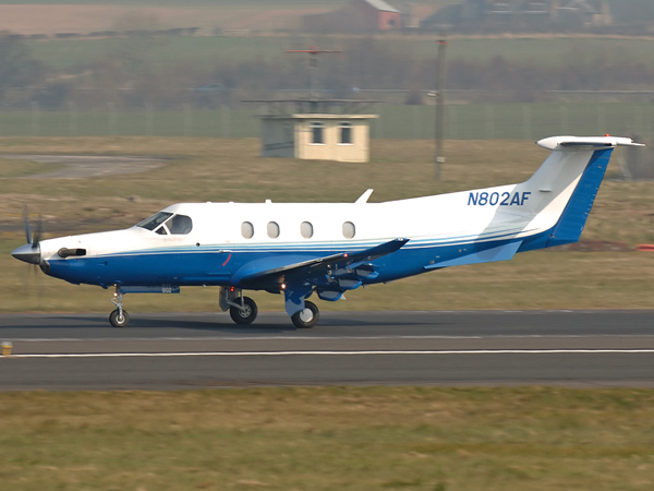 Pilatus PC-12-47   N802AF   (cn 802)