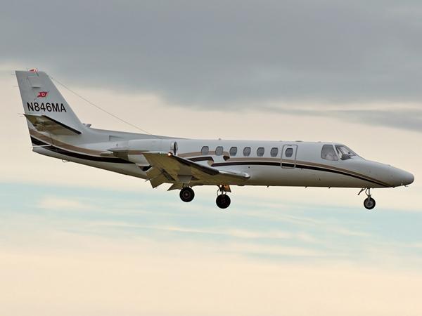Cessna 560 Citation V     N846MA