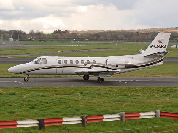 Pan Maritime Inc     Cessna 560 Citation 5    N846MA