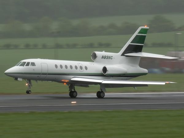 Dassault-Mystere Falcon 50  N89NC