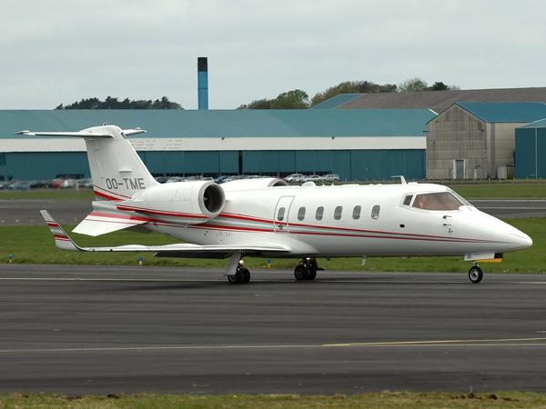 Bombardier  Learjet 60  OO-TME