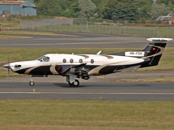 Pilatus PC-12-47  HB-FSH  (cn 752)
